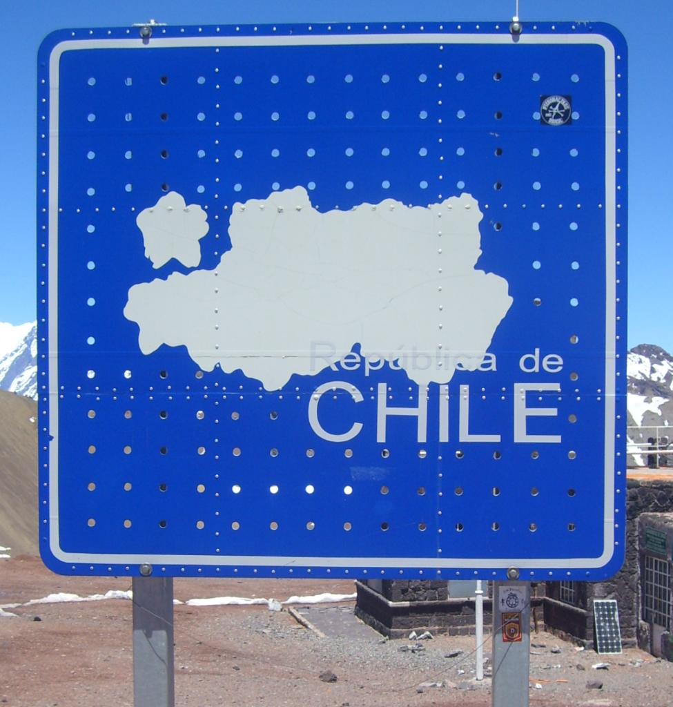 Anden bei Las Cuevas, Grenze Chile-Argentinien